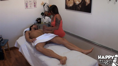 Asian hidden cam massage