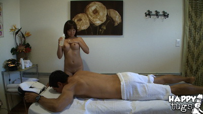 Asian massage sex on hidden cam